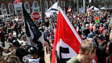 A white supremacist who called himself 'Antifa hunter' and threatened activists online has been sentenced to more than 3 years in prison