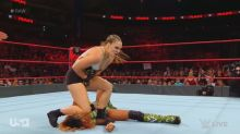 Ronda Rousey fights in debut match on 'Raw' six months after joining WWE
