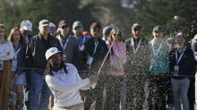 Larry Fitzgerald has golf game too: He and partner win Pebble Beach Pro-Am