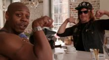 Dave Chappelle rides and jokes with 'Walking Dead' star Norman Reedus