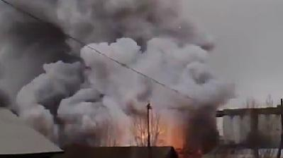 Fireworks Factory Goes Up In Flames