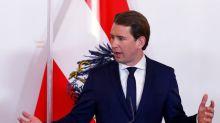 Austria's Kurz reiterates opposition to taking in asylum seekers from Moria