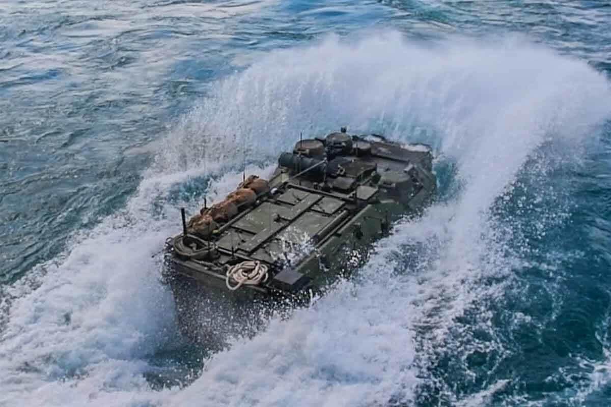 Marine AAV Hit Rough Seas, Rapidly Took on Water Before Sinking