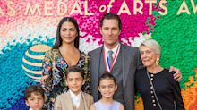 Matthew McConaughey Shows Off His Three Adorable Kids on the Red Carpet During Rare Appearance