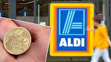 Aldi customer's 'cheeky' trolley hack earns her $5