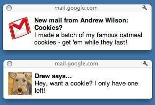 Google adds HTML5 Gmail and Gtalk notifications for the desktop, makes you envy Chrome users