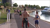 Thousands compete in 31st annual Chicago triathlon