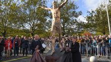 Zlatan Ibrahimovic honoured with enormous hometown statue