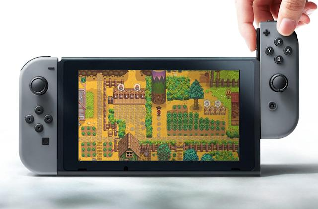 Farming sim 'Stardew Valley' is coming to Nintendo Switch