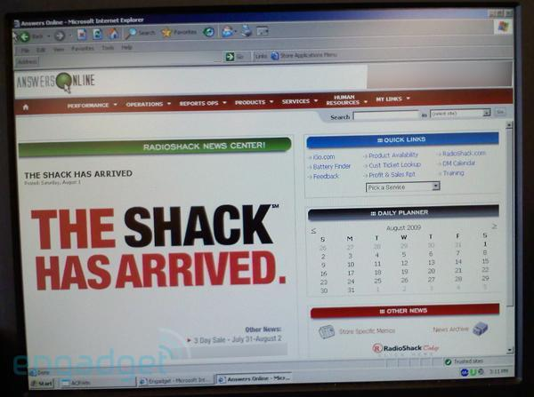 Radio Shack rebranding to 'The Shack'?
