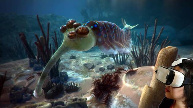 David Attenborough dives into VR with special museum exhibit