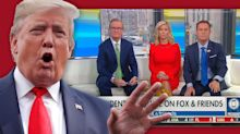 Trump in Fox News rant says he still is looking for nonexistent DNC server