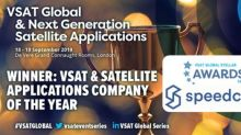 Speedcast Named VSAT and Satellite Applications Company of the Year