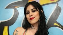 The bizarre outrage over Kat von D's decision to tattoo her arm black