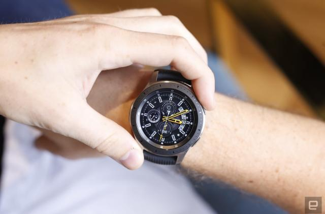 Two days with the Galaxy Watch: Bezels, Bixby and stress tests