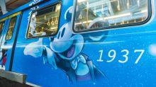 米奇老鼠主題火車台灣登場 慶90歲生日