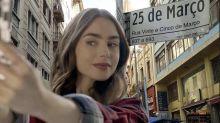 """""""Emily em Paris"""": memes fazem protagonista conhecer pontos turísticos brasileiros"""