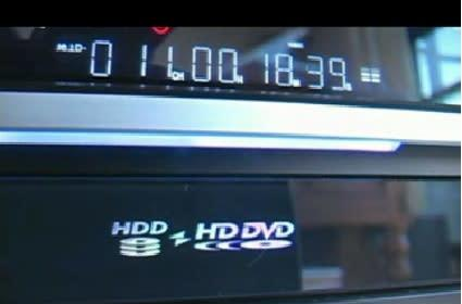 Video review of Toshiba's HD DVD recorder - RD A1