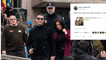 Gary Lineker slams Cristiano Ronaldo tweet on day Cardiff striker Sala goes missing: 'Not the day for this'