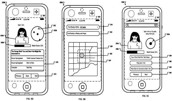 Apple patent application highlights location-based social networking, encourages intimate pinging