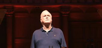 John Cleese: Why There Is No Hope, Cadogan Hall, review: the wretched sight of a national treasure boring for Britain