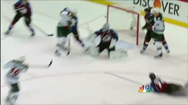 Jared Spurgeon ties Game 7 late in the 3rd