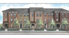 New Lennar Townhomes Rising On Site Of Former Downtown Indianapolis Bakery