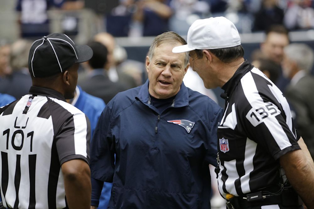 Rough couple of weeks for NFL officiating