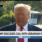 Stephanie Grisham on whistleblower controversy and whether Trump will release transcript of Ukraine call