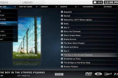 "XBMC ""Camelot"" update brings lots of new features"