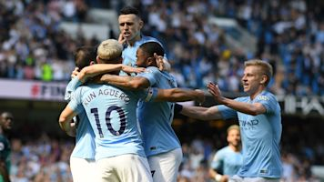 Manchester City moves back into first place