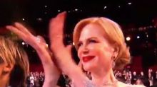 Oscars viewers freaked out by Nicole Kidman's bizarre clapping