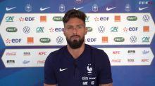 """France - Giroud : """"Jouer dans un stade vide, c'est un autre métier"""""""