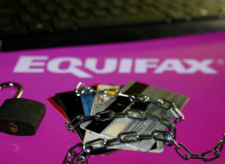 Image result for Equifax shares slump after massive data breach