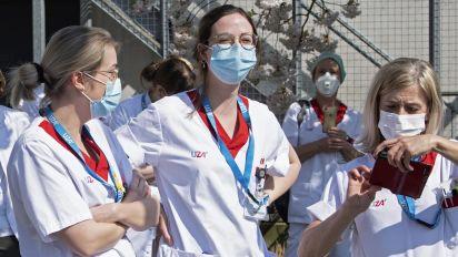 Covid-19 : grand flou sur le nombre de soignants infectés