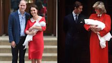 Kate Middleton channels Princess Diana to debut royal baby no. 3