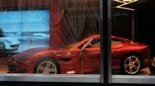 Ferrari reports 42% slump in second-quarter revenue