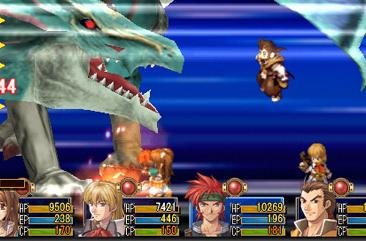 Falcom's latest spans multiple UMDs