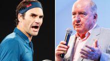 Roger Federer cops backlash over message to Alan Jones