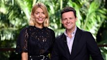 'I'm a Celeb': Declan Donnelly twerks as he 'competes' for camera time with Holly Willoughby