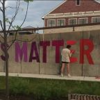 Mequon Black Lives Matter mural taken down because of where it was located