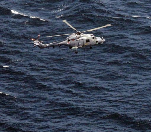 Three missing after S. Korea helicopter crashes at sea