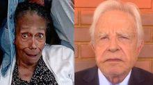 Glória Maria celebra os 89 anos da mãe e Cid Moreira brinca: 'Um broto, mais nova do que eu'