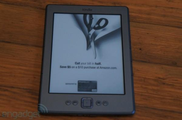 """Ad-supported Kindle 4 has built-in $30 """"upgrade"""", gets rid of embedded special offers"""