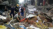 At least 12 people killed in China gas explosion