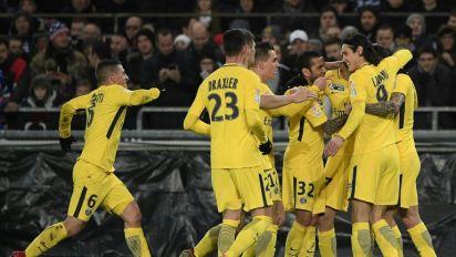Coupe de la Ligue: le PSG qualifié en quarts, Lyon éliminé