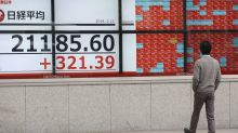 Global shares mostly higher on hopes for US-China trade deal