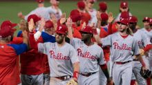 The Phillies are hot on the Mets' heels