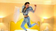 Thalía es una feroz boxeadora; mira lo que hizo