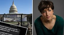 'Utterly surreal': Capitol reporter shares chilling text from mum